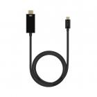 Кабель USB Type-C - HDMI, 4K, 60Hz, 1.8м, черный, Deppa (72279)