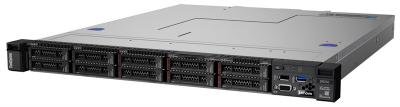 Сервер Lenovo ThinkSystem SR250 Rack 1U, Xeon E-2224 4C (3.4GHz/ 8MB/ 71W), 1x8GB/ 2666/ 1Rx8/ UDIMM, noHDD (upto 4) LFF .... (7Y51A07GEA)