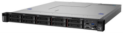 Сервер Lenovo ThinkSystem SR250 Rack 1U, Xeon E-2224 4C (3.4GHz/ 8MB/ 71W), 1x16GB/ 2666/ 1R/ UDIMM, noHDD(upto 8/ 10 SF .... (7Y51A07KEA)