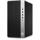 Пк HP ProDesk 600 G5 MT Core i7-9700 3.0GHz, 8Gb DDR4-2666(1), 256Gb SSD, DVDRW, USB Kbd+USB Mouse, DisplayPort, 3/ 3/ 3 .... (7AC19EA#ACB)