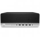 Пк HP ProDesk 600 G5 SFF Core i5-9500 3.0GHz, 16Gb DDR4-2666(2), 512Gb SSD, DVDRW, USB Kbd+USB Mouse, HDMI, 3/ 3/ 3yw, W .... (7QM89EA#ACB)