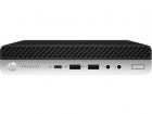 Пк HP ProDesk 600 G5 Mini Core i7-9700T 2.0GHz, 8Gb DDR4-2666(1), 256Gb SSD, WiFi+BT, USB Kbd+USB Mouse, Stand, 3/ 3/ 3y .... (7QN58EA#ACB)