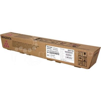 Принт-картридж малиновый, тип SPC820DNHE Print Cartridge Magenta SP C820DNHE (820118)