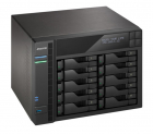 Система хранения данных ASUSTOR AS6210T (10-Bay NAS, Intel Celeron Quad-Cord, 4GB DDR3L, GbE x 2, HDMI, SPDIF, USB 3.0 & .... (90IX00X1-BW3S10)