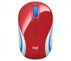 Мышка Logitech Wireless Mini Mouse M187, Red, [910-002732] (910-002732) (910-002732)