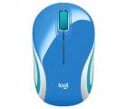 Мышка Logitech Wireless Mini Mouse M187, Blue, [910-002733] (910-002733) (910-002733)