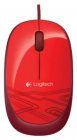 Клавиатура Logitech Mouse M105, USB, 1000dpi, Red [910-002945] (910-002945)
