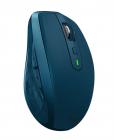 Мышь беспроводная Logitech MX Anywhere 2S MIDNIGHT TEAL (бирюзовая, 200-4000 dpi, Bluetooth, 2.4 GHz/ USB-ресивер (Logit .... (910-005154)