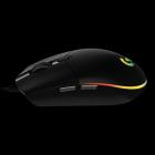 Мышь Logitech Mouse G102 LIGHTSYNC Gaming Black Retail (910-005823)