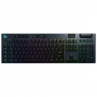 Клавиатура Logitech Gaming Keyboard G915 CARBON BT TACTILE SWITCH (920-008909)