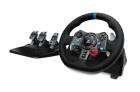 Контроллер для игровых симуляторов Logitech G29 Driving Force (руль и педали для PlayStation4, PlayStation3 и ПК) (941-000112)