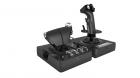 Контроллер для игровых симуляторов Logitech G X56 Space/ Flight H.O.T.A.S. (джойстик и блок рычагов управления для авиа .... (945-000059)