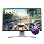 """Монитор BENQ 31, 5"""" EX3203R VA LED, изогнутый 2560x1440 4ms 400cd/ m2 20M:1 178°/ 178° HDMI DP1.2 2*USB 3.0 Tilt HAS Gre .... (9H.LGWLA.TSE)"""