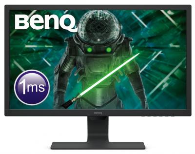 "Монитор BENQ 24"" GL2480E TN LED 1920x1080 1ms 16:9 250 cd/ m2 1000:1 12M:1 170/ 160 D-sub DVI HDMI Flicker-free Black (9H.LHXLB.VFE)"