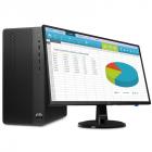 Персональный компьютер и монитор HP Bundle 290 G3 MT Core i3-9100, 4GB, 500GB, DVD-WR, usb kbd/ mouse, Serial Port, Win1 .... (9UF71ES#ACB)