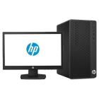 Персональный компьютер и монитор HP Bundle 290 G3 MT Core i5-9500, 8GB, 256GB M.2, DVD-WR, usb kbd/ mouse, Serial Port, .... (9UF84ES#ACB)
