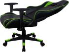 Кресло для геймера Aerocool AC220 AIR-BG, черно-зеленое, с перфорацией, до 150 кг, размер 66х63х125/ 133 см (AC220 AIR-BG)