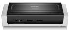 Сканер Brother ADS-1700W, A4, 25 стр/ мин, 1200 dpi, DADF20, WiFi, сенс.экран, USB3.0 (ADS1700WTC1)