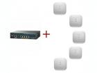Комплект Wi-Fi контроллер+точки доступа AIRCT2504-702I-R5