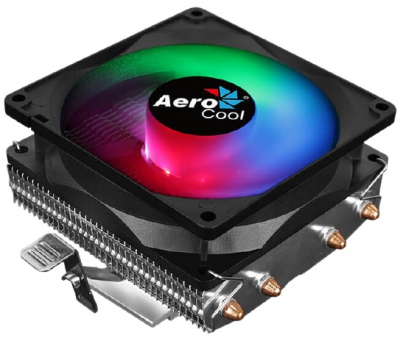 Кулер для процессора Aerocool Air Frost 4 125W / FRGB / 3-Pin / Intel 115*/ 775/ 2066/ 2011/ AMD / Heat pipe 6mm x4 (AIR FROST 4)
