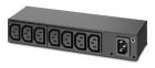 Панель распределения питания APC RACK PDU, BASIC, 0U/ 1U, 120-240V/ 15A, 220-240V/ 10A, (8) C13 (AP6015A)