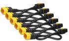 Кабель Power Cord Kit (6 pack), Locking, IEC 320 C19 to IEC 320 C20, 16A, 208/ 230V, 0.6m (AP8712S) (AP8712S)