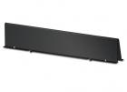 Shielding Partition Solid 750mm wide Black (AR8172BLK)