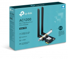 Адаптер Wi-Fi AC1200 Dual-Band PCI Adapter, Bluetooth 4.2 support, two external antennas (ARCHER T5E)