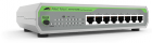 Коммутатор Allied Telesis 8-port 10/ 100TX unmanaged switch with external PSU, Multi-Region Adopter (AT-FS710/ 8E-60)