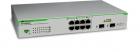 Коммутатор Allied Telesis 8 port 10/ 100/ 1000TX WebSmar switch with 2 SFP bays (AT-GS950/ 8-50)