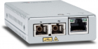 Медиаконвертер Allied Telesis TAA, 10/ 100/ 1000T to 1000LX/ SC Single Mode Mini Media & Rate Converter, 10km (AT-MMC2000LX/ SC-TAA-60)