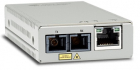 Медиаконвертер Allied Telesis TAA, 10/ 100TX to 100X/ SC Single Mode Mini Media & Rate Converter (AT-MMC200LX/ SC-TAA-60)