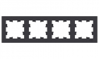 ATLASDESIGN 4-постовая РАМКА, универсальная, КАРБОН ATLASDESIGN 4-постовая РАМКА, универсальная, КАРБОН (ATN001004)