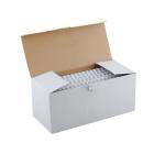 Пластиковые пружины 51 мм белые 50 шт. Пружины пластиковые 51 мм белые (410-500 листов) 50 шт, ГЕЛЕОС [BCA4-51W] (BCA4-51W)