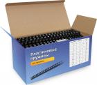 Пластиковые пружины 6 мм черные 100 шт. Пружины пластиковые 6 мм черные (1-30 листов) 100 шт, ГЕЛЕОС [BCA4-6B] (BCA4-6B)