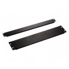 Hyperline BPV-2-RAL9005 Фальш-панель на 2U, цвет черный (RAL 9005) (BPV-2-RAL9005)
