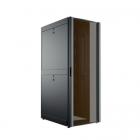 24U 600x1050, черный, дверь стекло (C3.RF2402)