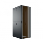 42U 600x1050, черный, дверь стекло (C3.RF4226)