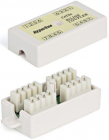 Hyperline CA-IDC-C5e-WH Проходной адаптер (coupler), Dual IDC, категория 5e, 4 пары (CA-IDC-C5e-WH)