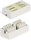 Hyperline CA-IDC-C5e-WH Проходной адаптер (coupler), Dual IDC, категория 5e, 4 пары (CA-IDC-C5e-WH)