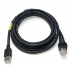 Кабель Cable: RS232 (5V signals), Magellan Aux Port, black, 10 pin modular, 3m (9.8?), straight, external power with opt .... (CBL-MAG-300-S00)