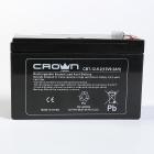 Батарея CROWN напряжение 12В, ёмкость 9.2 А/ Ч, размеры (мм) 151х65х95, вес 2, 5 кг, тип клеммы - F2, тип АКБ - свинцово к .... (CBT-12-9.2)