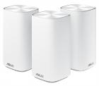 ASUS CD6(3-PK)/ / роутер, из 3 точек доступа, 802.11b/ g/ n/ ac/ ax, до 400 + 867Мбит/ c, 2, 4 + 5 гГц, белый ; 90IG05S0 .... (CD6(3-PK))