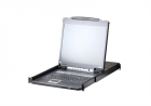"""Квм переключатель ATEN 17"""" 8P PS/ 2-USB VGA LCD KVM IP SW. W/ RU (CL5708IM-ATA-RG)"""