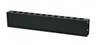 Hyperline CM-2U-ML-COV Кабельный организатор металлический с крышкой, 19'', 2U (CM-2U-ML-COV)