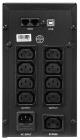 ИБП CROWN 1200VA/ 720W, корпус металл, 2x12V/ 9AH, выходные розетки 8*IEC С13 + 1*IEC С13 bybass, трансформатор AVR 140-29 .... (CMU-SP1200IEC LCD USB)