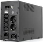 Источник бесперебойного питания UPS CROWN 2000VA/ 1200W, металл, 2x12V/ 9AH, розетки 4*IEC + 2*EURO+1*IEC bybass, трансф .... (CMU-SP2000 COMBO USB)