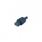 Hyperline CON-IEC320C13 Разъем IEC 60320 C13 220В 10A на кабель (плоские контакты внутри разъема), прямой (CON-IEC320C13)