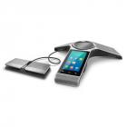 YEALINK Комплект: CP960, конференц-телефон, PoE, запись разговора и 2 CPW90 (беспроводные), без БП, шт (CP960+2 CPW90)