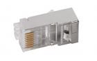 ITK Разъём RJ-45 FTP для кабеля SOLID кат.6 ITK Разъём RJ-45 FTP для кабеля SOLID кат.6 (CS3-1C6FS)